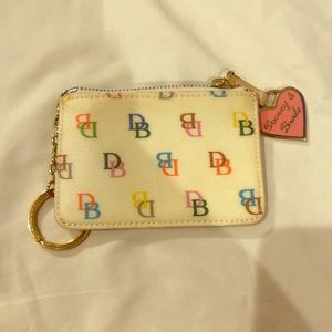 Dooney and Bourne Vintage White Pouch